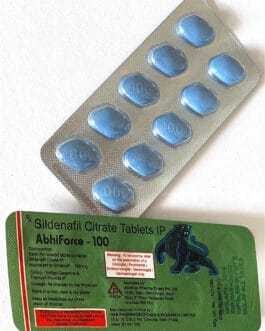 ABHIFORCE 100mg – 10db TABLETTA